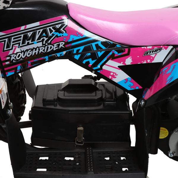 FunBikes T-Max Roughrider 1000w Electric Pink Kids Quad Bike