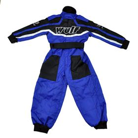 Wulfsport Cub Racing Suit Blue